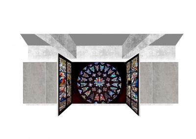 Stained glass interpretation centre