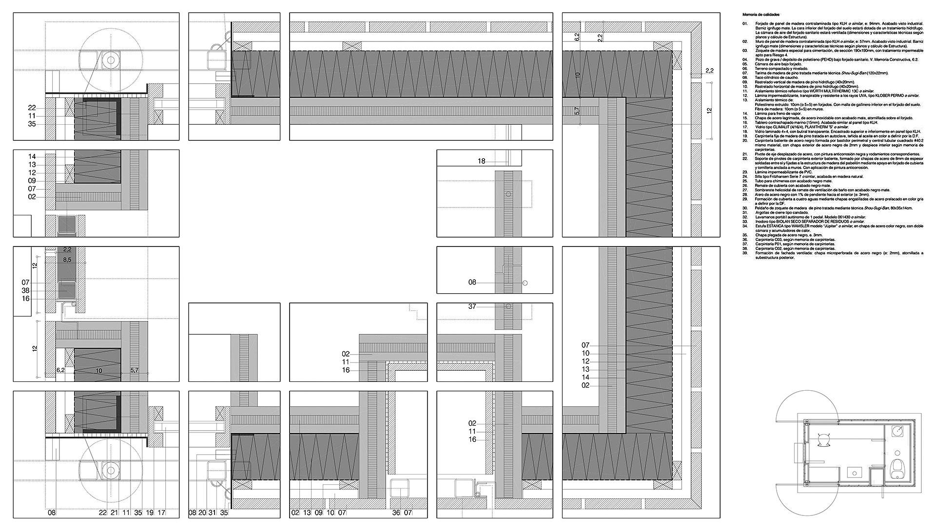Planos Pabellones BIC
