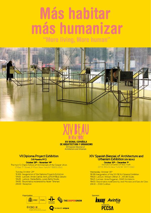 Exposición de la XIV BEAU en Nueva York